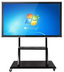China Floor Stand Movable Touch Screen LCD Monitor Support Windows/Android For Teaching on sale