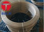 Round Stainless Steel Coil Tube Evaporator For Equipment Of Beer & Drinks