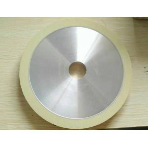 OEM Resin Bonded Diamond Grinding Wheels Flat Diamond Grit Abrasive For Glass