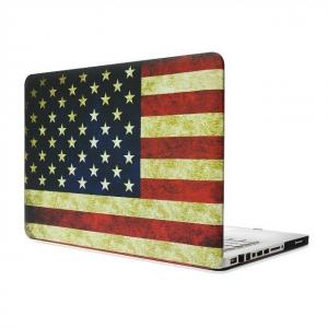 China America USA Flag Rubberized Matte Hard Case Cover For Apple Macbook Air 13''13.3 on sale