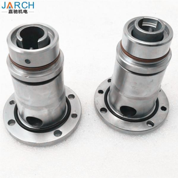 Copper Hydraulic Rotary Union Joints 400RPM Continuous Steel