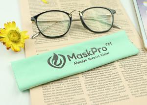 China Anti Static Microfiber Glasses Cloth , Dust Free Microfiber Cloth For Phone on sale