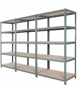 China Pharmacy Industry 5 Tiers Metal Long Span Bulk Storage Shelving on sale