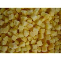 China Sweet IQF Frozen Fruit , Freezing Peeled Yellow Peach Half / Dice / Slice on sale