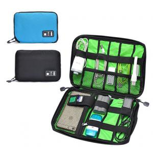 China Digital Cable Organizer Travel Storage Bags Size  Customized With Zipper on sale