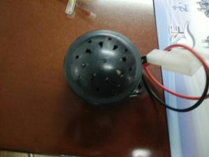 China Electric Rickshaw Parts Reverse Horn / Motor Double Horn on sale