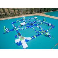 Open Water Inflatable Aqutic Sports Park With 0.9mm PVC Tarpaulin