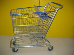 China Germany Type Supermarket Shopping Trolley 60-240L Loading Capacity on sale