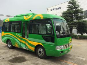 China Euro 4 Engine 30 Passenger Bus Small Commercial Vehicles Leaf Spring Suspension on sale