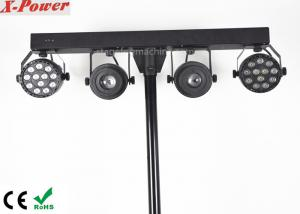 China 220V 2 * 10W Led Kaleidoscope Light / Wash Effect Professional Disco Dmx Led Par Cans on sale