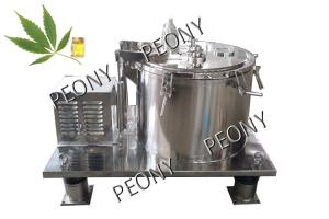 China Industrial Ethanol Extraction Machine / Alcohol Extraction Centrifuge Machinery on sale