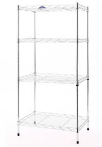 China Carbon Steel NSF Metal Shelving , Carbon Steel Black Color 18*48*72'' Durable on sale