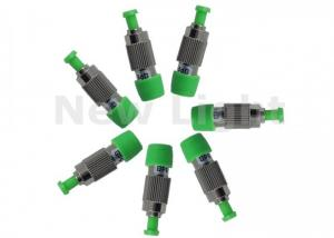 China Green Fiber Optic Attenuator Single Mode FC APC Female To Male 5 dB Attenuator on sale