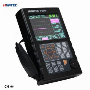Quality NDT Ultrasonic Crack Detection Test with Big memory of 500 A graph HUATEC FD510 for sale