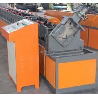 China Galvanized Steel Roller Shutter Door Frame Roll Forming Machine Window Type on sale