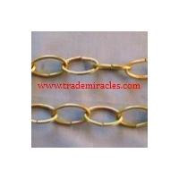 China high quality Decorator chain, decorative chain ,brass oval chain, weldless chain