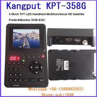 China Kangput 358G 3.5 Handheld TFT LCD Multi-Function(DVB-S/S2) Digital Satellite Finder/Monitor on sale