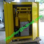 Sistema com cerco, máquina da filtragem do óleo isolante de vácuo alto da purificação de óleo do Switchgear com armário!