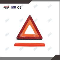 Reflective car safety roadway traffic warning triangle reflector