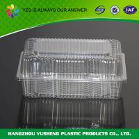 Plastic Disposable Bakery Containers , Clear Cake Boxes High - transparently