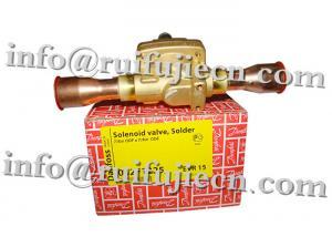China Refrigeration parts  Solenoid Valves / solenoid Coil - EVR EVU Series EVR15 032F8101 CE/ROHS/  R134A/R22/R407C on sale