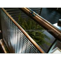 China Building Johnson Screen Mesh / Wedge Wire Panels Corrosion Resistance 3000*3000mm on sale