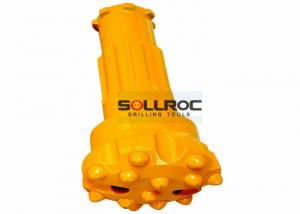 China DTH Hammer Bits Cop54 DTH Bit Rock Drill Bits For Blasting Drilling , yellow on sale