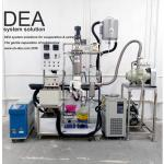 Double Stage Medical Hemp CBD Producing Line With Short Path Evaporator Body