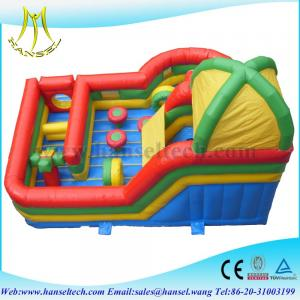 China Hansel inflatable bouncer slide inflatable bouncers for adults on sale