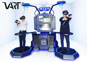 China VR Walker Platform Shooting Game 9D Simulator With HTC Vive For Airport on sale
