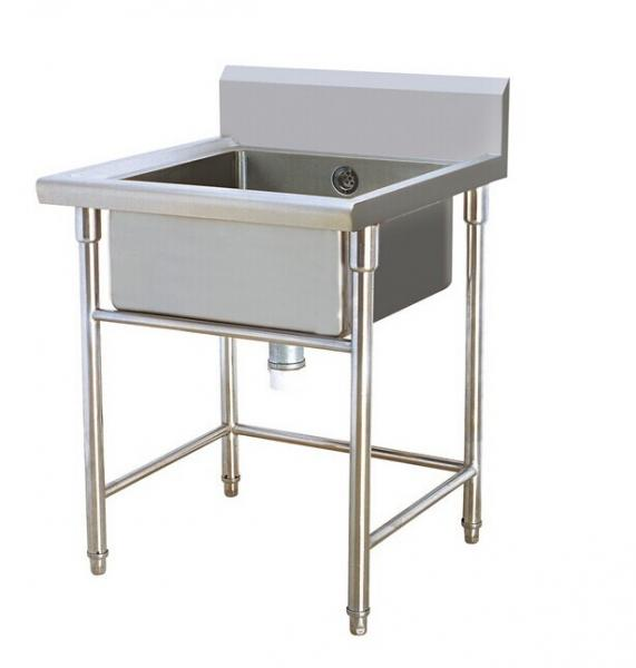 Restaurant Undermount Commercial Grade Stainless Steel Sinks 600x600x950mm  Images