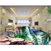 Waterproof Chemical Resistance Epoxy Resin 3D floor Paint