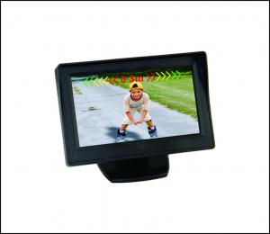 China LCD parking sensors with 4.3inch monitor, 4 sensors and rearview camera on sale