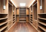China Furniture Walk In Closet Wardrobe MDF Material Melamine Easy Installation wholesale