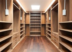 China Furniture Walk In Closet Wardrobe MDF Material Melamine Easy Installation on sale