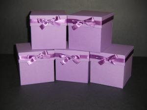 China Purple Custom Printing Paper Box / New Product Gift Packaging / Paper Box For Clothes on sale