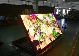 China Full Color Mobile Truck LED Display / IP 65 Trailer Mounted LED Screen on sale