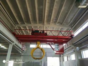 China China Crane Double Beam Lift 10T Grab Bucket Bridge Crane For You on sale