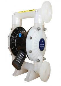 China Petrochemistry Acid Diaphragm Pump / Chemical Twin Diaphragm Pump 1 Inch on sale
