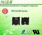 Inductores de gran intensidad del alambre plano de PSCI1240 Series0.35~5.6uH para inversor del picovoltio del convertidor de DC/de DC