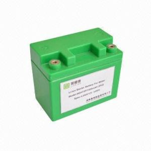 China Lithium Ion Rechargeable Battery Pack For Electric Car / Jump Starter / Solar Led Lighting on sale