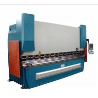 Sheet Metal Press Brake Machine 2 Axes 100Ton X 2500 With Hydraulic Electric Control