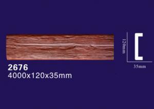 China Polyurethane Faux Wooded Roof Beams / Crossgirder / Transom / Girde on sale