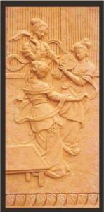 China 2015 hot sell artificial sandstone wall relief QG-R0017 on sale