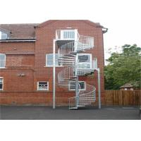 Outdoor wrought iron/stainless steel sprial staircase for small spaces