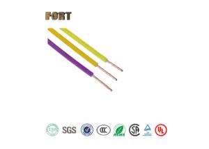 China Single Conductor Teflon Coated Copper Wire Rated Voltage 300V For Electric Machines on sale