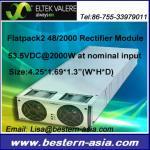 Flatpack2 Eltek Valerio 48V 2000W Flatpack2 48/2000
