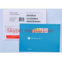 China OEM Package Windows 8.1 Download 32 Bit / 64 Bit Original Data For Notebook on sale