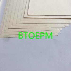 China Unbleached 100% Virgin Wood Pulp 102gsm Yellow Test Liner Paper on sale