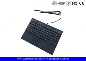 China Rubber Computer Industrial Desktop Keyboard With 12 Function Keys And Touchpad on sale